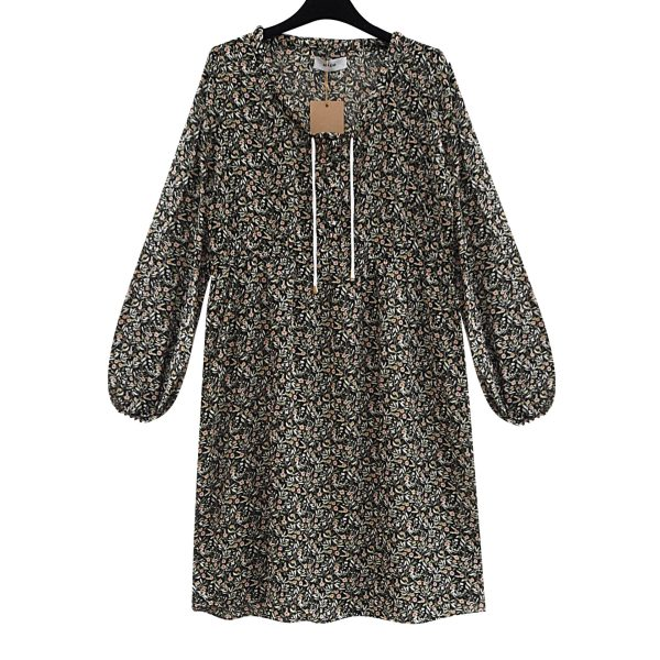 Julie oversized viscose bluse
